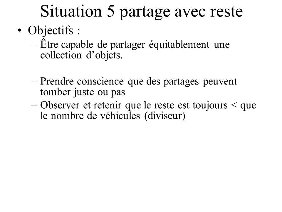 Situation 5 partage avec reste