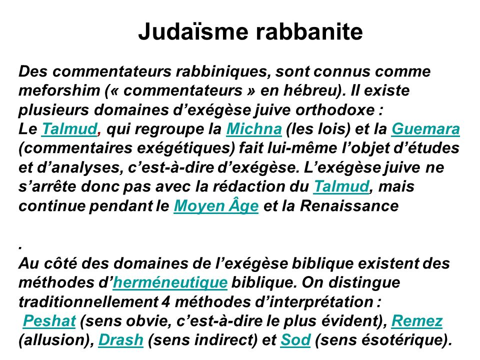 Judaïsme rabbanite