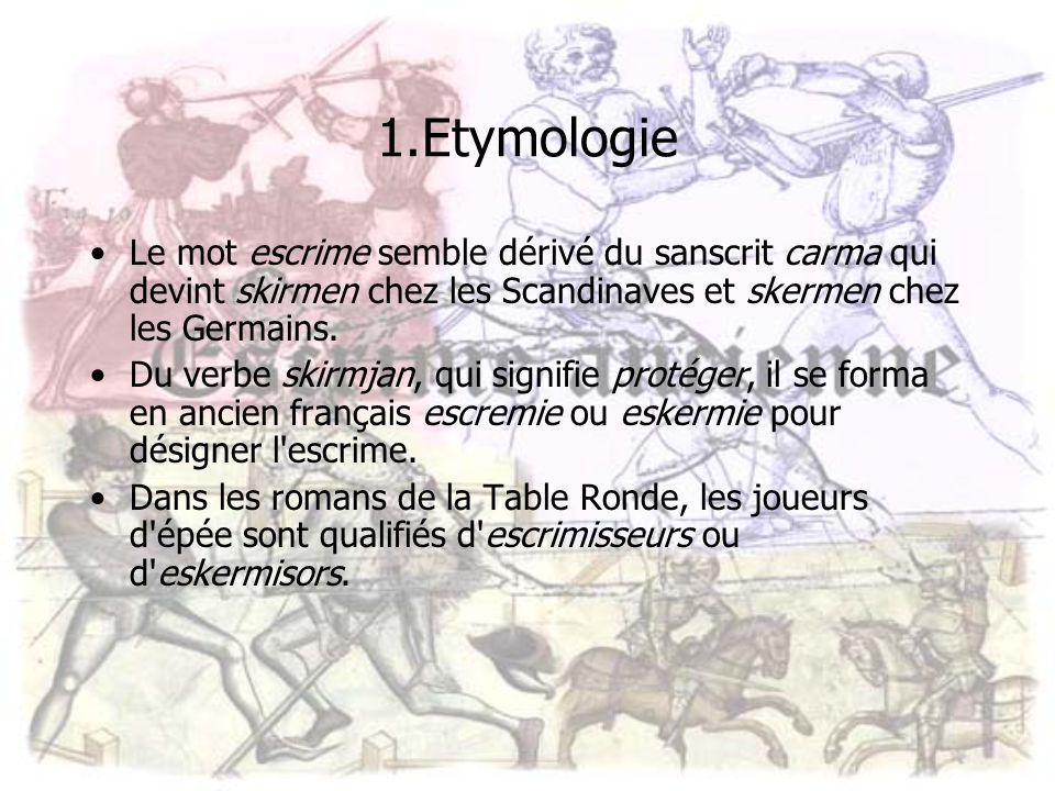 Br ve histoire de l escrime ppt t l charger - Qui sont les chevaliers de la table ronde ...
