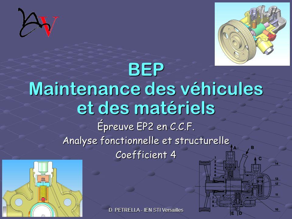BEP Maintenance des véhicules et des matériels