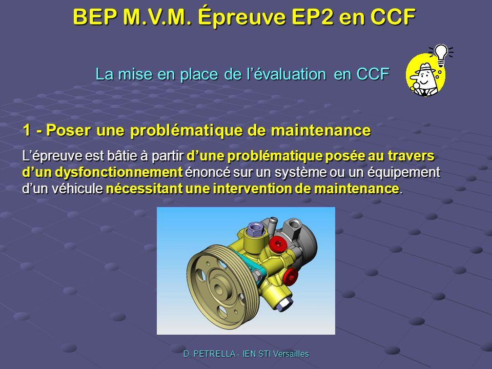 La mise en place de l'évaluation en CCF