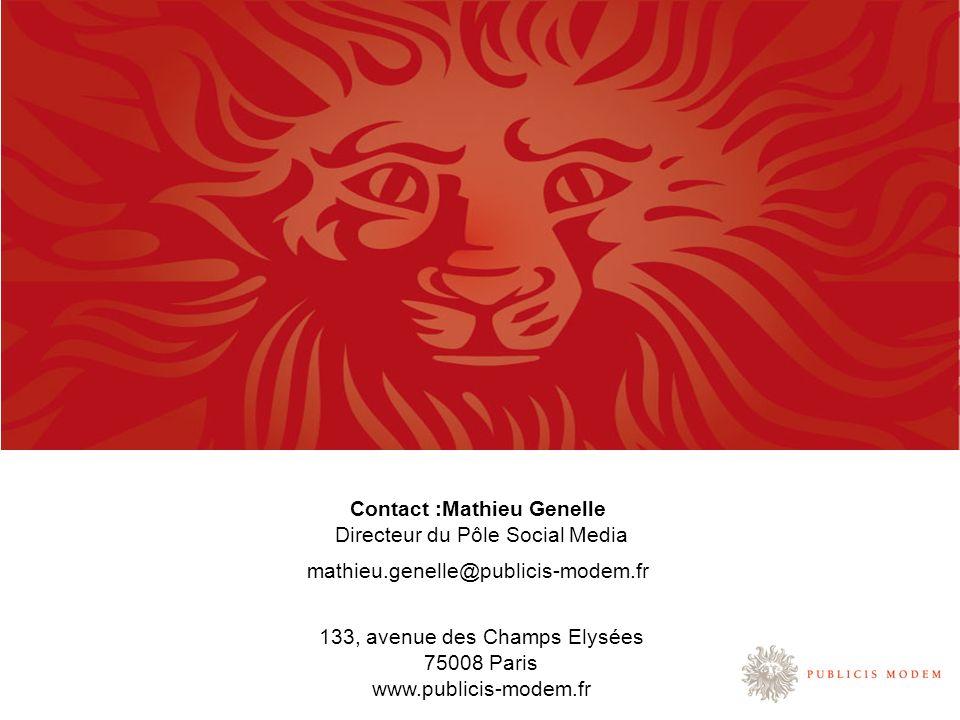 Contact :Mathieu Genelle