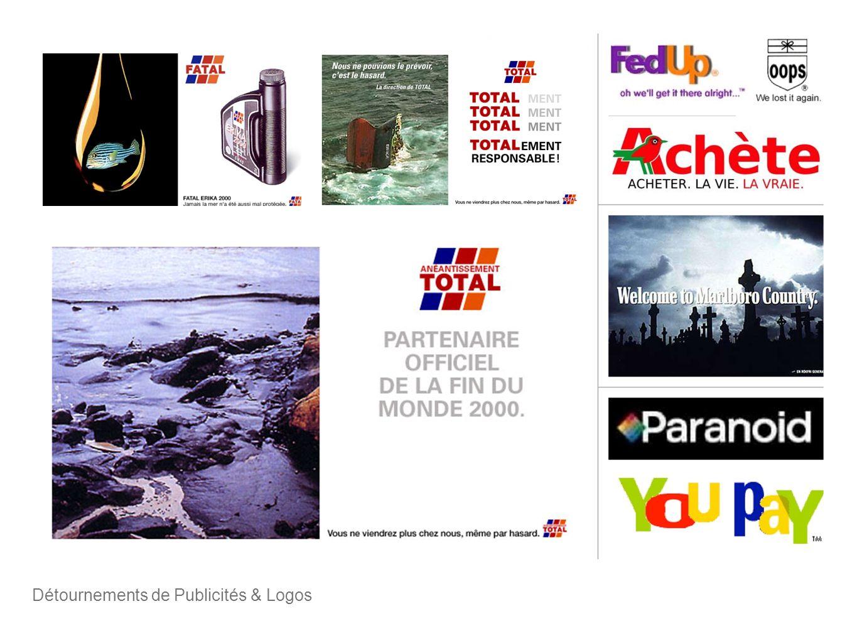 Détournements de Publicités & Logos