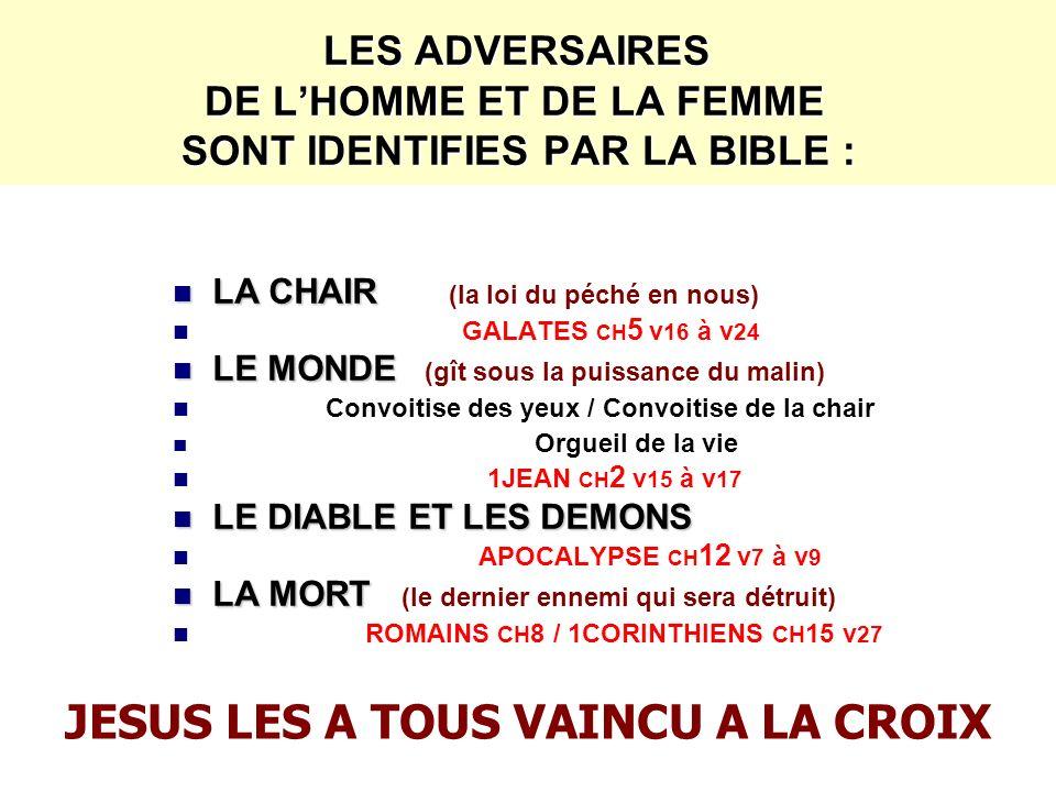 JESUS LES A TOUS VAINCU A LA CROIX
