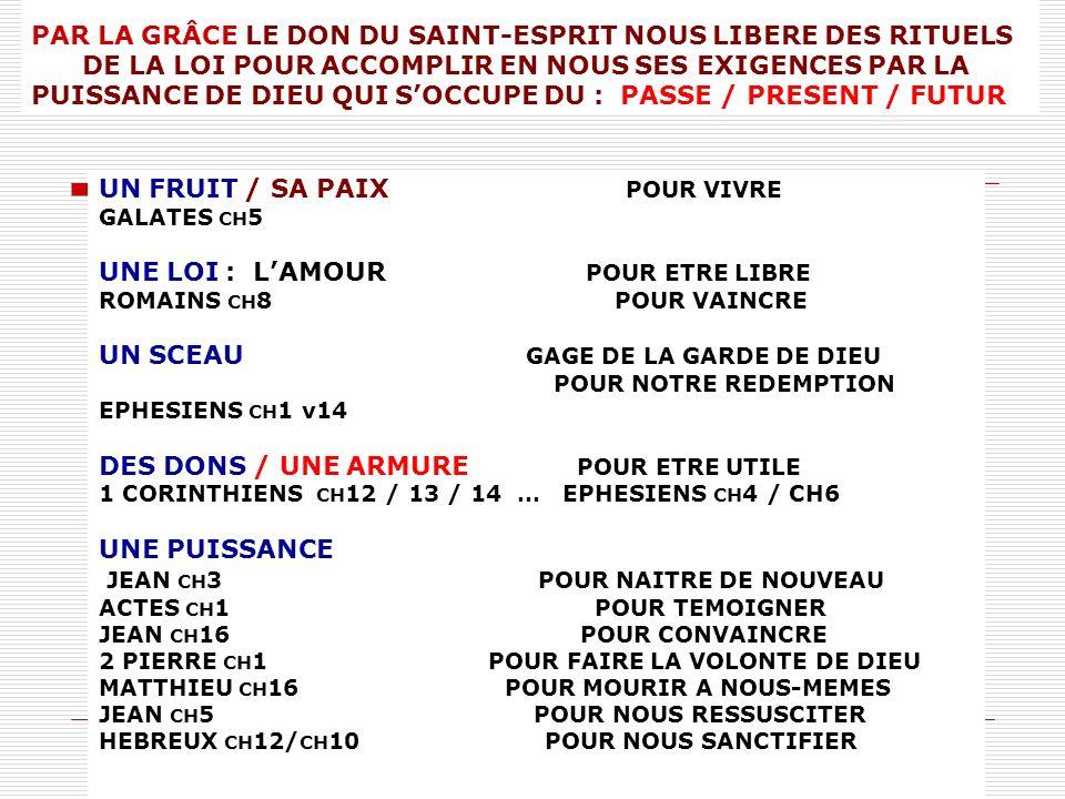 UN FRUIT / SA PAIX POUR VIVRE