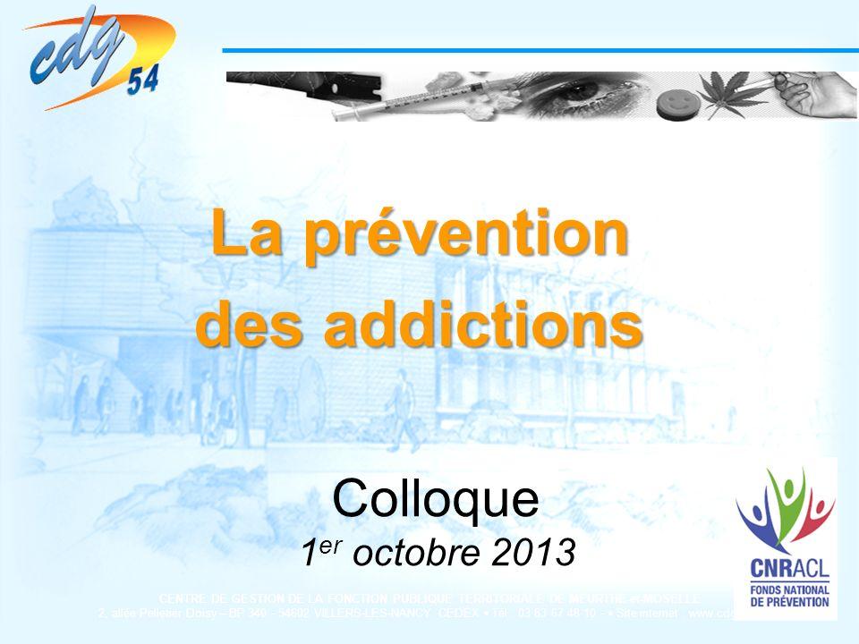 La prévention des addictions
