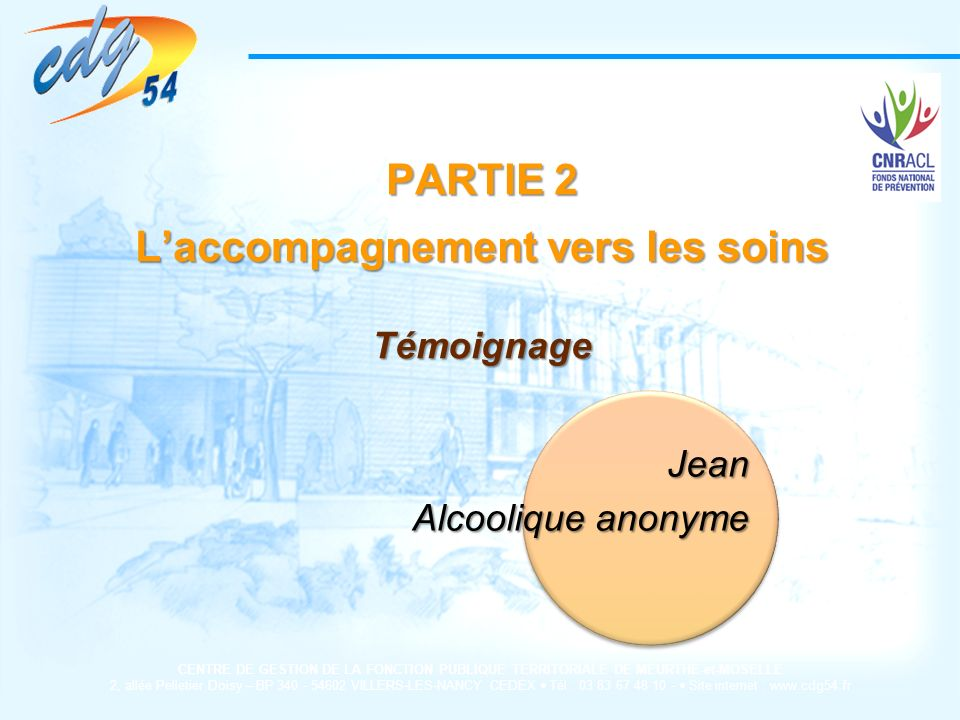 L'accompagnement vers les soins