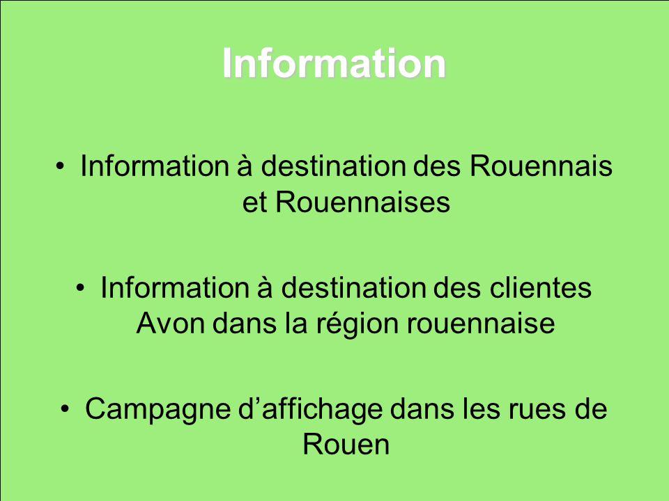 Information Information à destination des Rouennais et Rouennaises