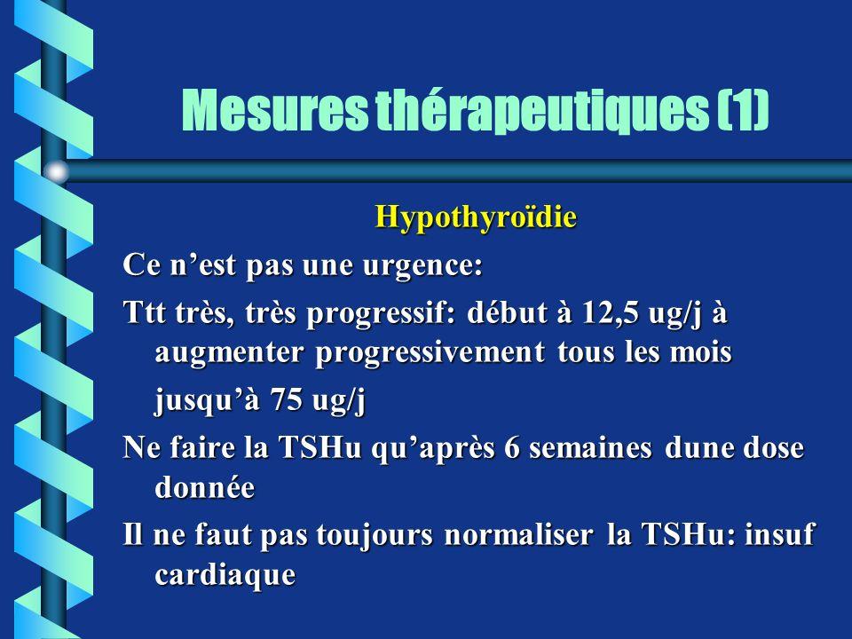 Mesures thérapeutiques (1)