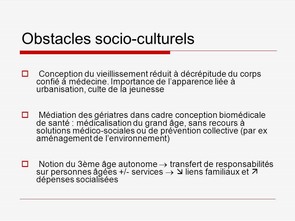 Obstacles socio-culturels
