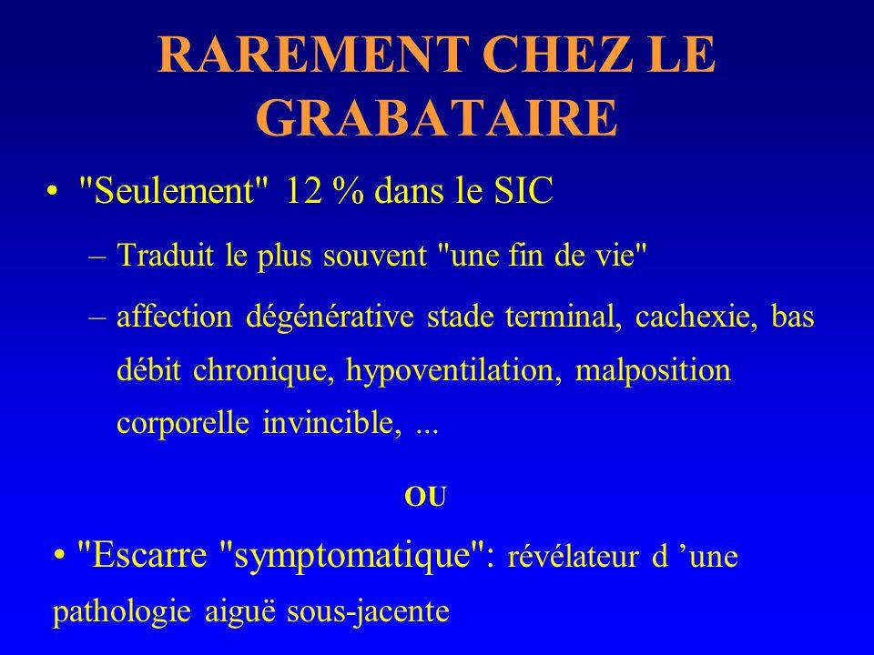 RAREMENT CHEZ LE GRABATAIRE