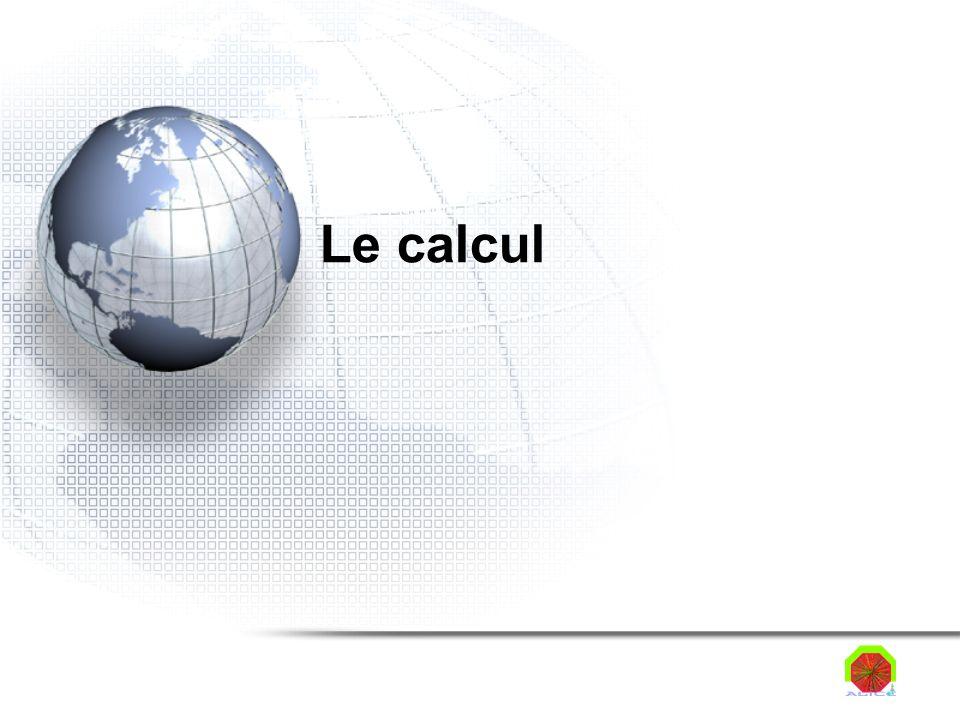 Le calcul