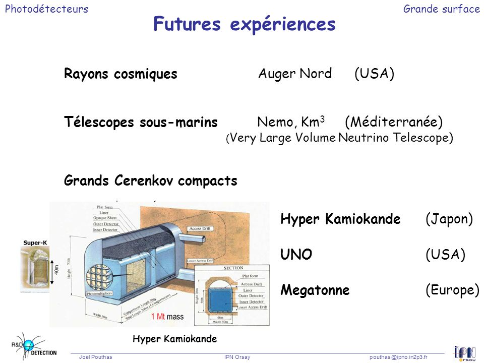 Futures expériences Rayons cosmiques Auger Nord (USA)