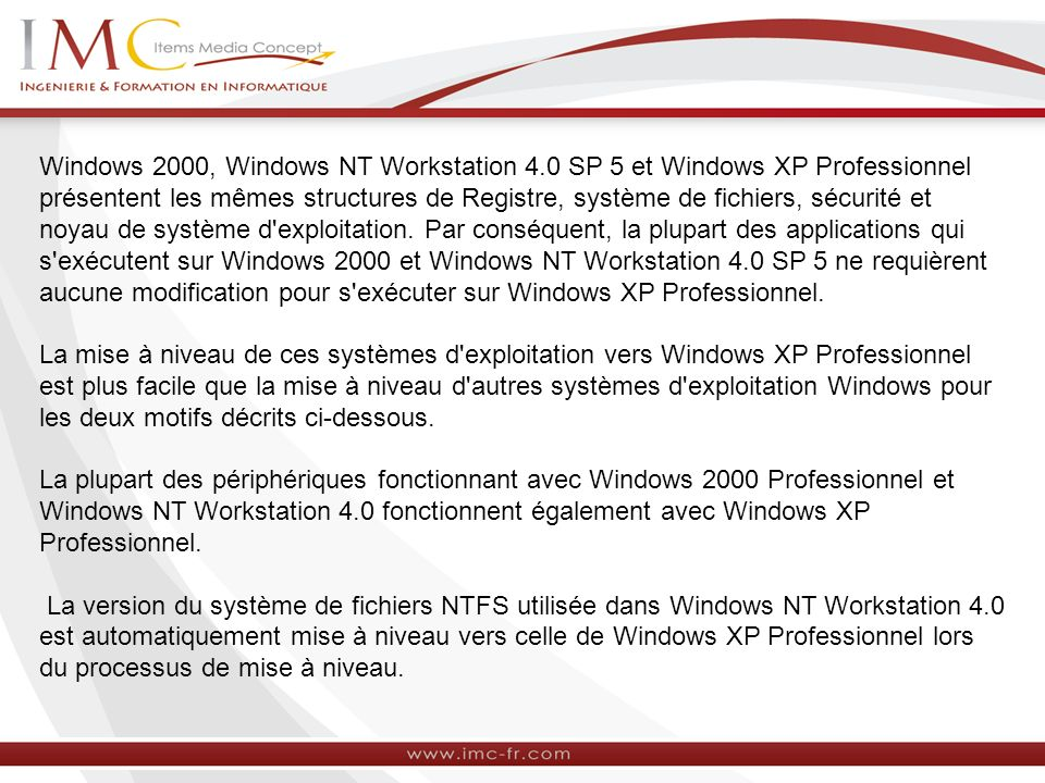 Windows 2000, Windows NT Workstation 4