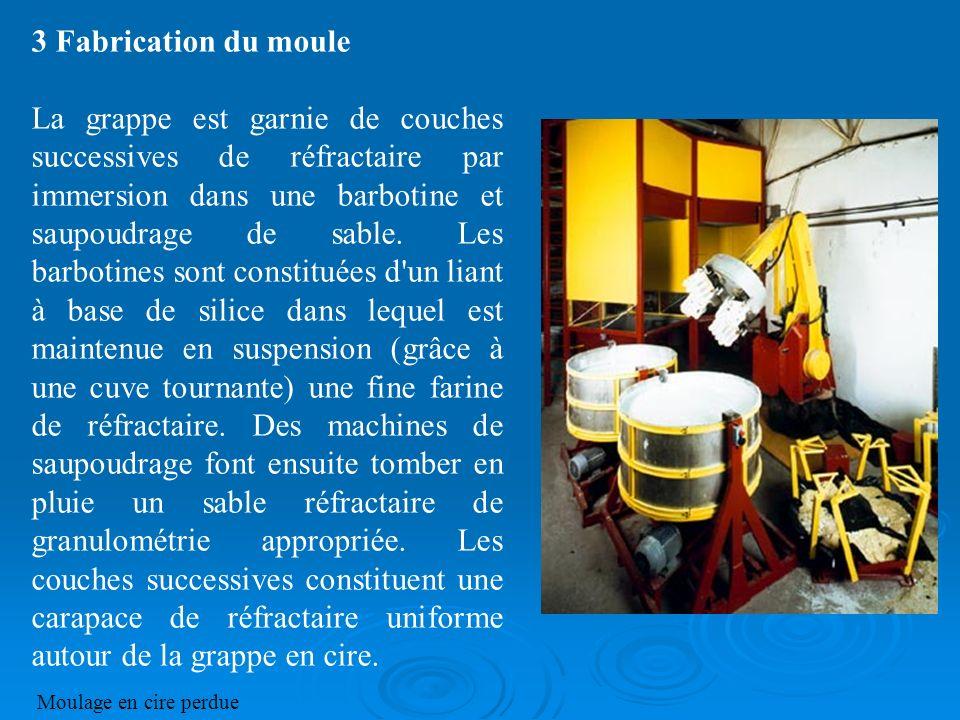 3 Fabrication du moule
