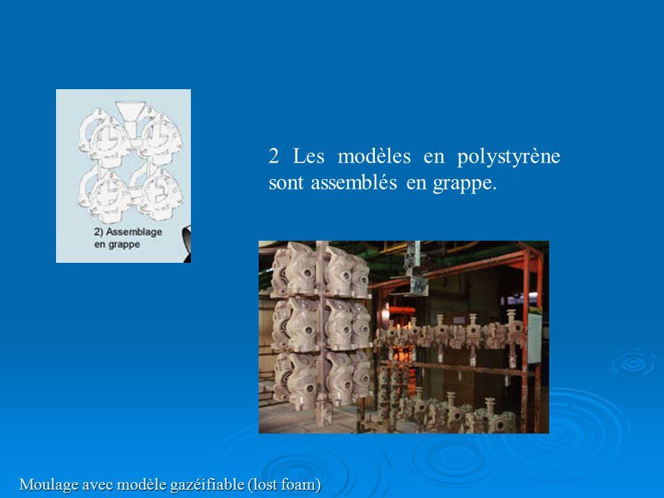 Moulage avec modèle gazéifiable (lost foam)