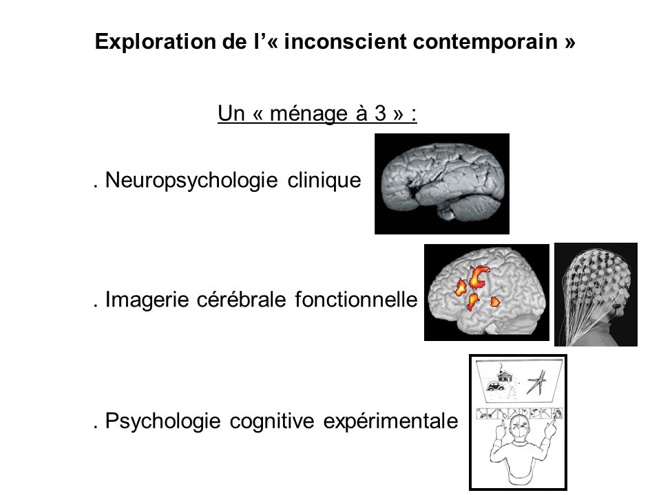 Exploration de l'« inconscient contemporain »