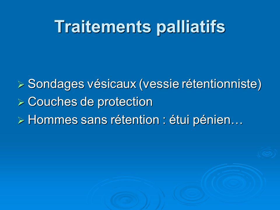 Traitements palliatifs