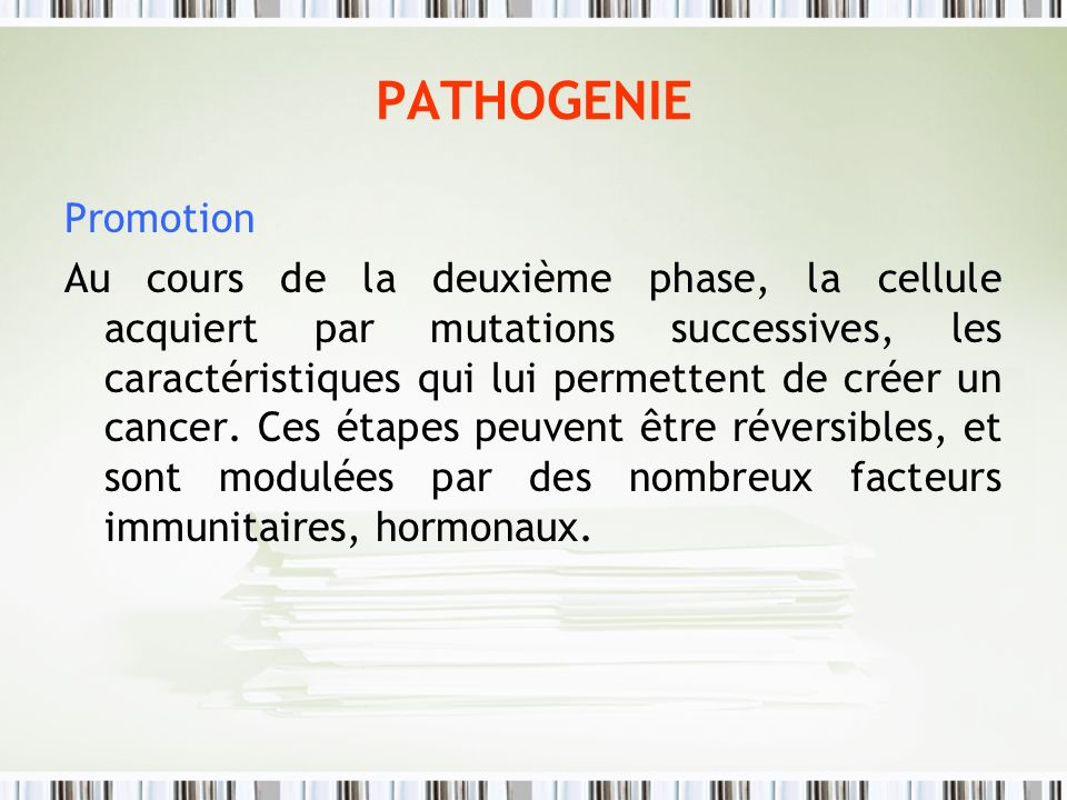 PATHOGENIE Promotion.