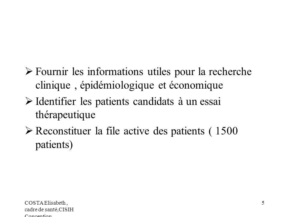 Identifier les patients candidats à un essai thérapeutique