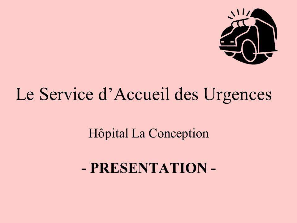 Le Service d'Accueil des Urgences