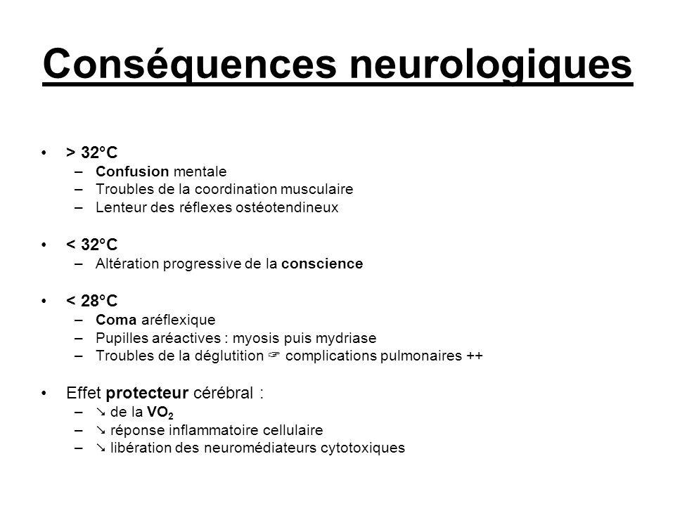 Conséquences neurologiques