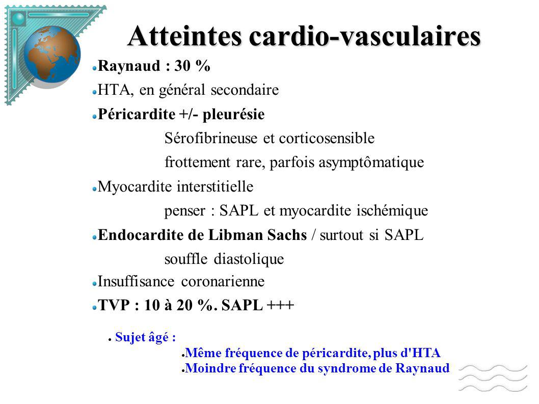 Atteintes cardio-vasculaires