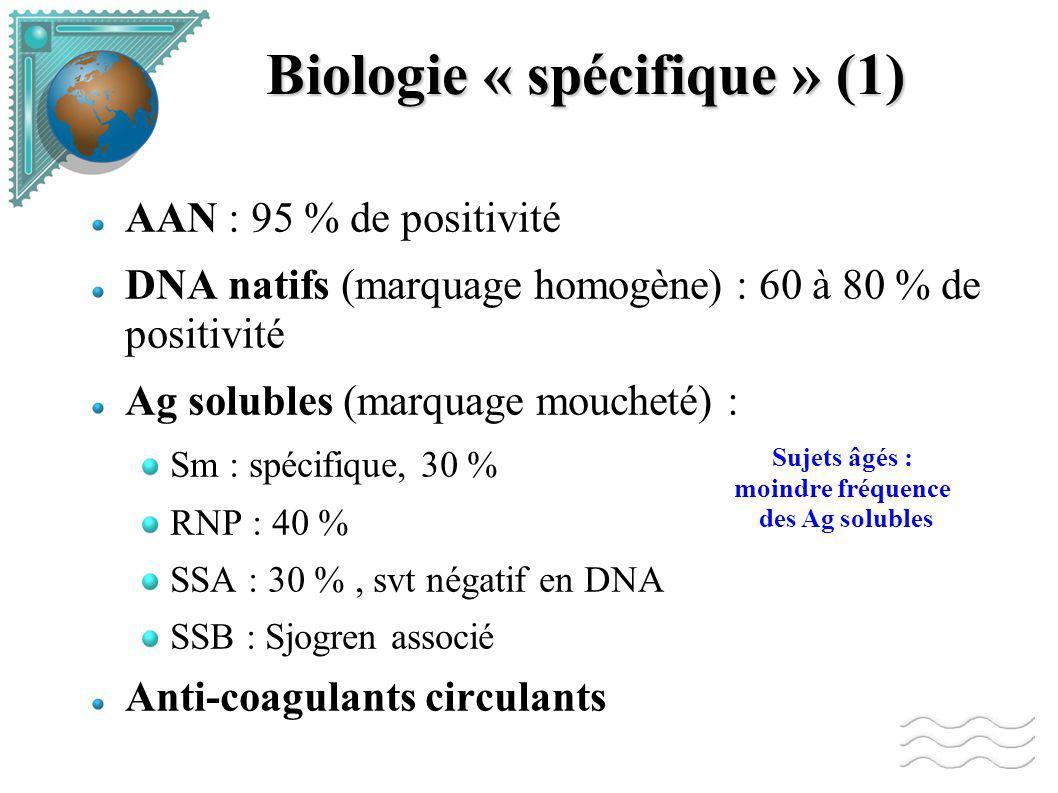Biologie « spécifique » (1)
