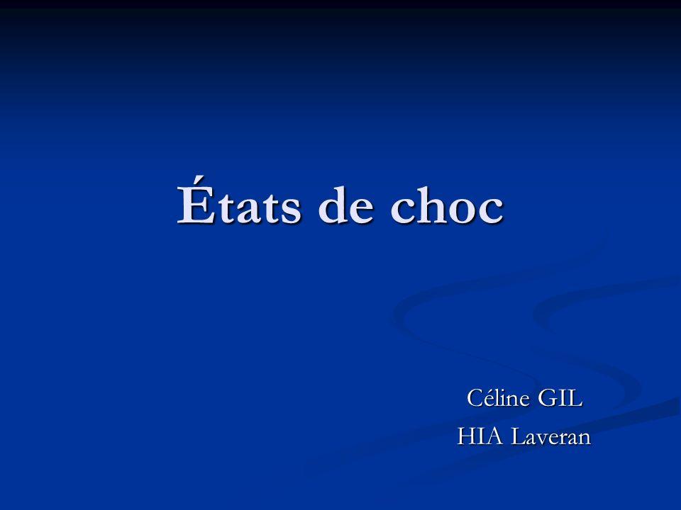 États de choc Céline GIL HIA Laveran