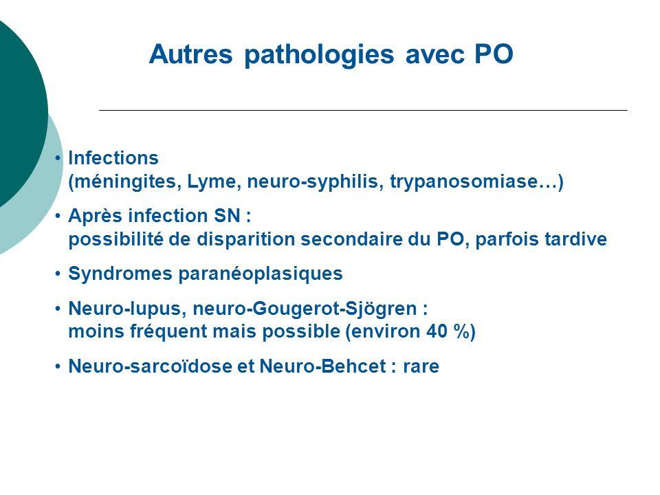 Autres pathologies avec PO