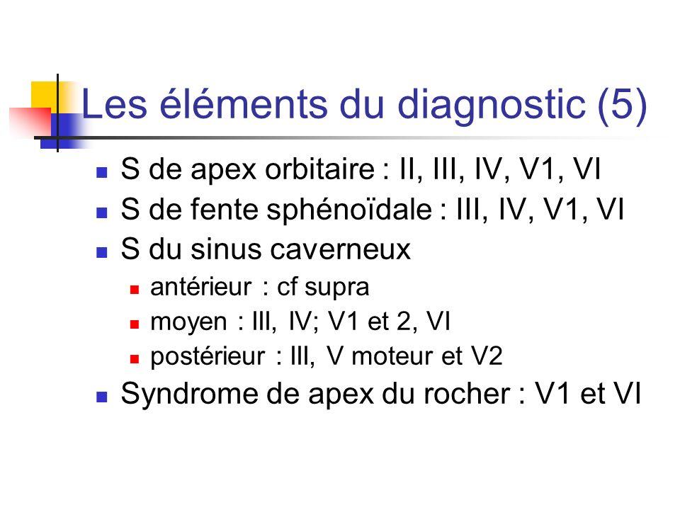Les éléments du diagnostic (5)