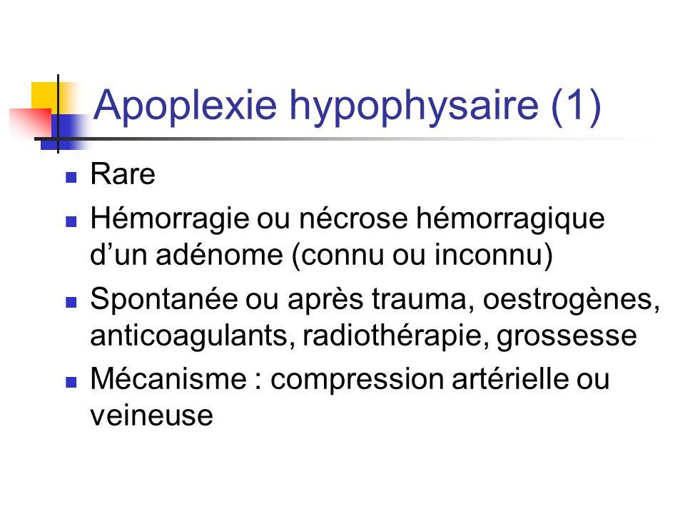 Apoplexie hypophysaire (1)