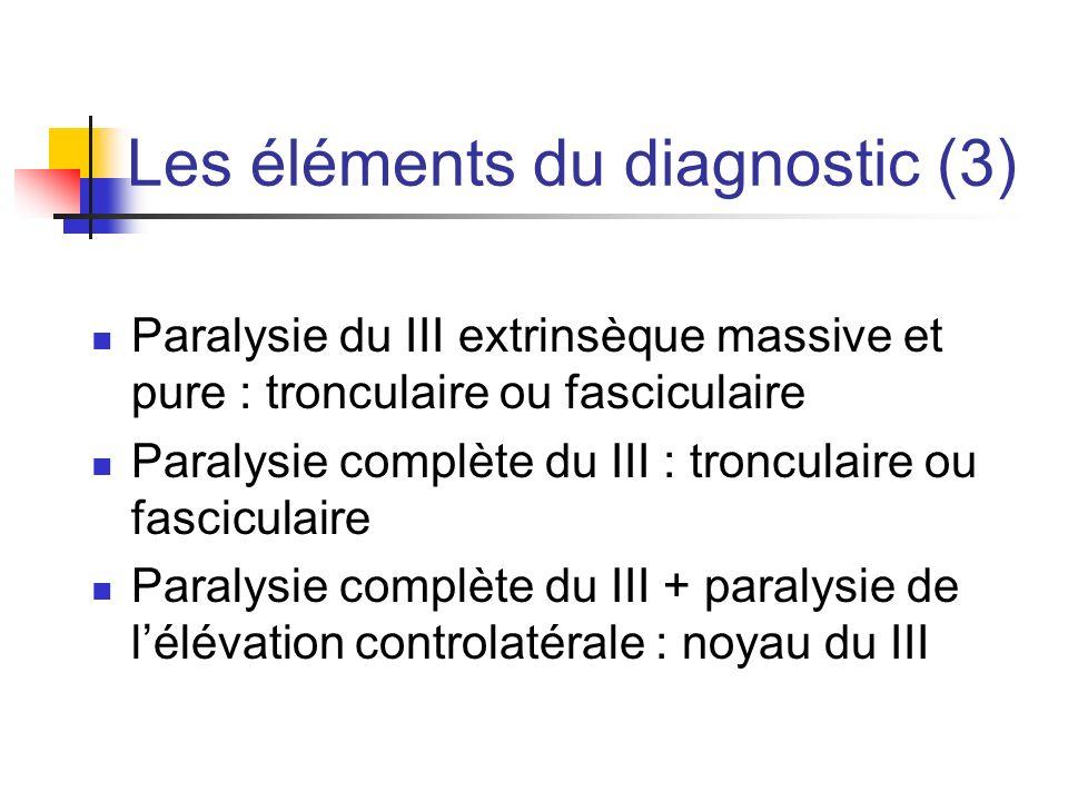 Les éléments du diagnostic (3)