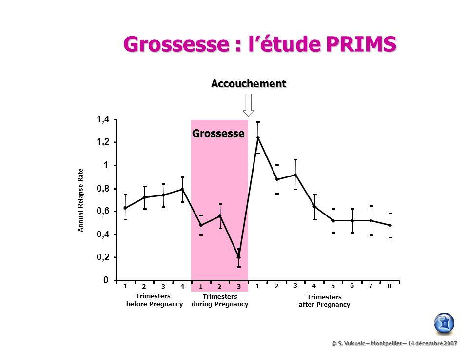 Grossesse : l'étude PRIMS