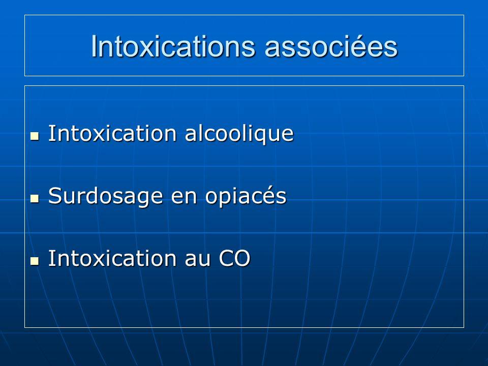 Intoxications associées
