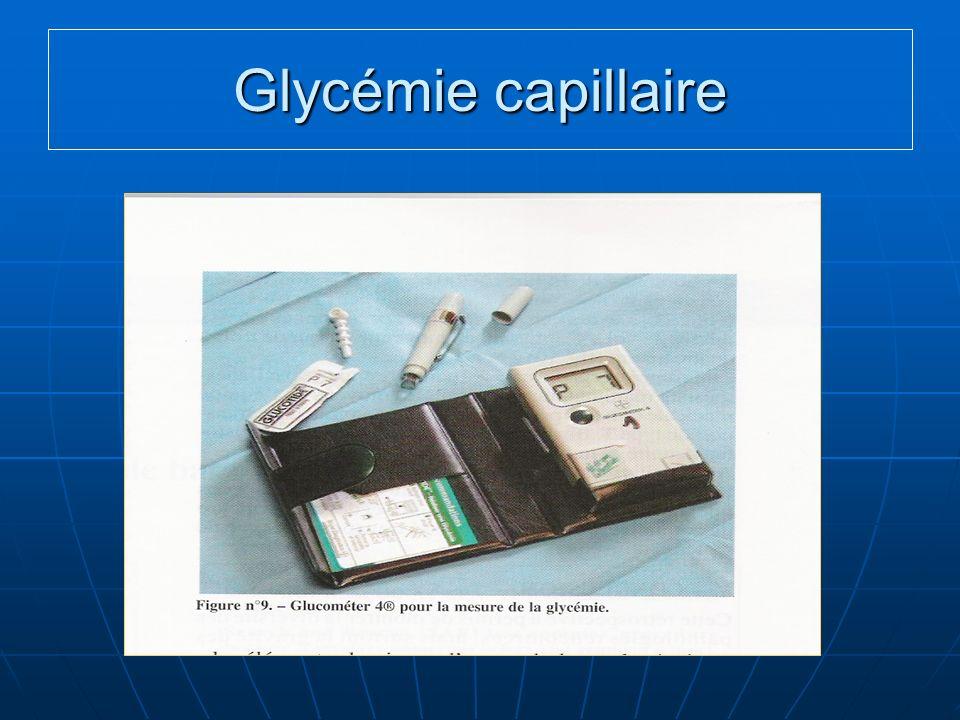 Glycémie capillaire