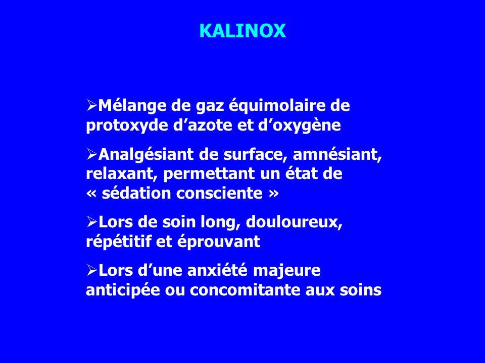 KALINOX Mélange de gaz équimolaire de protoxyde d'azote et d'oxygène