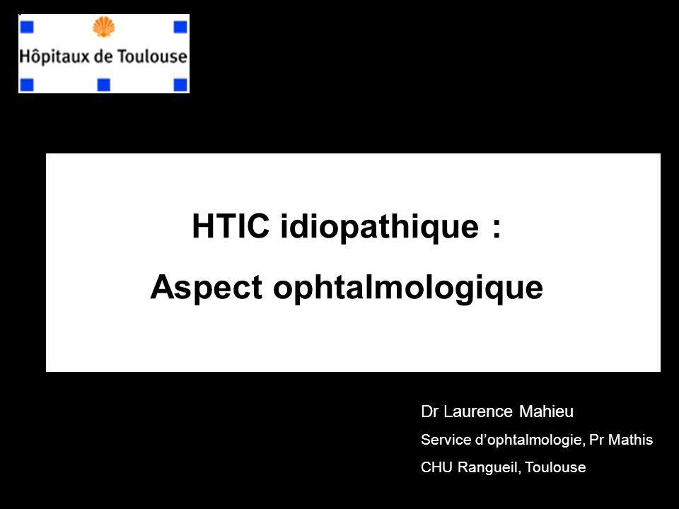 Aspect ophtalmologique