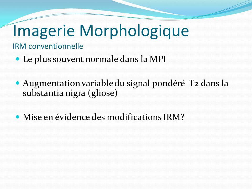 Imagerie Morphologique IRM conventionnelle