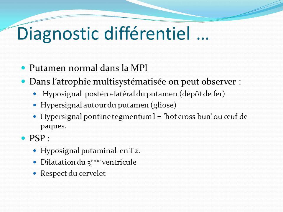 Diagnostic différentiel …