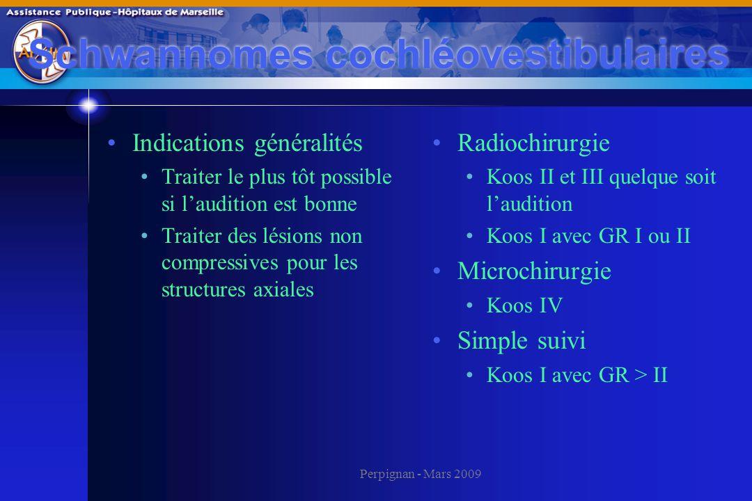 Schwannomes cochléovestibulaires