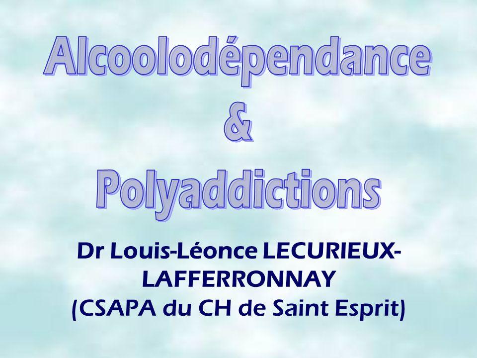 Dr Louis-Léonce LECURIEUX-LAFFERRONNAY (CSAPA du CH de Saint Esprit)