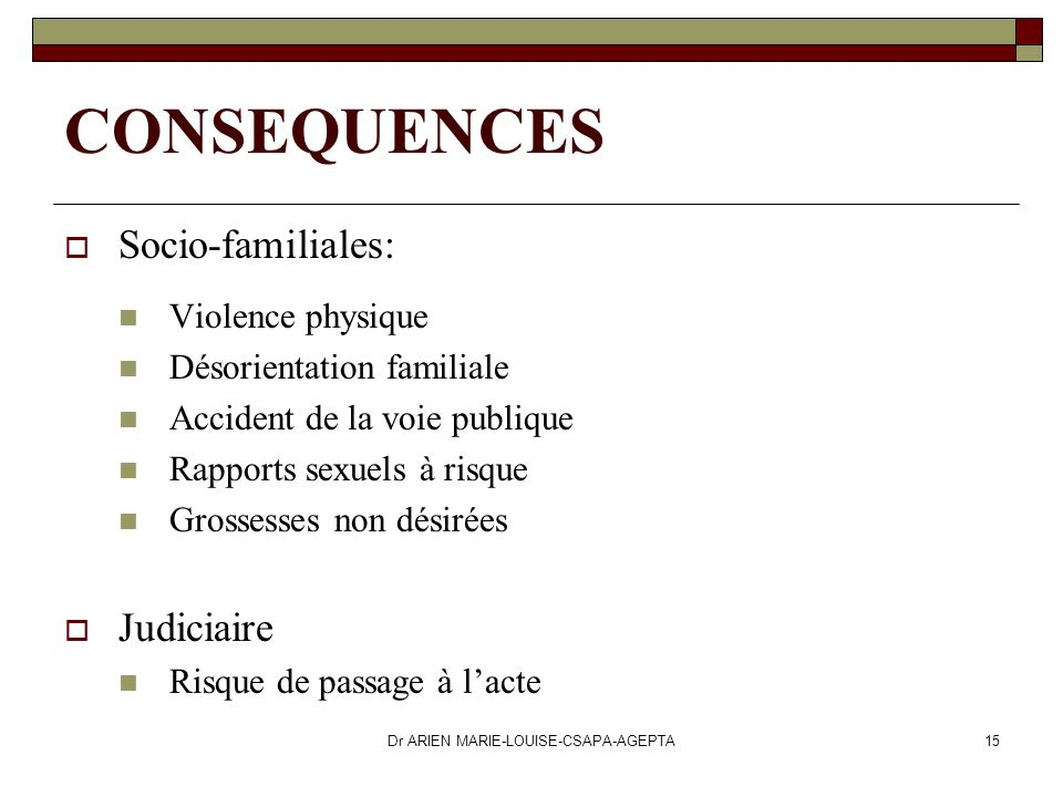 Dr ARIEN MARIE-LOUISE-CSAPA-AGEPTA