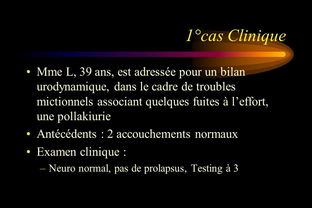 1°cas Clinique