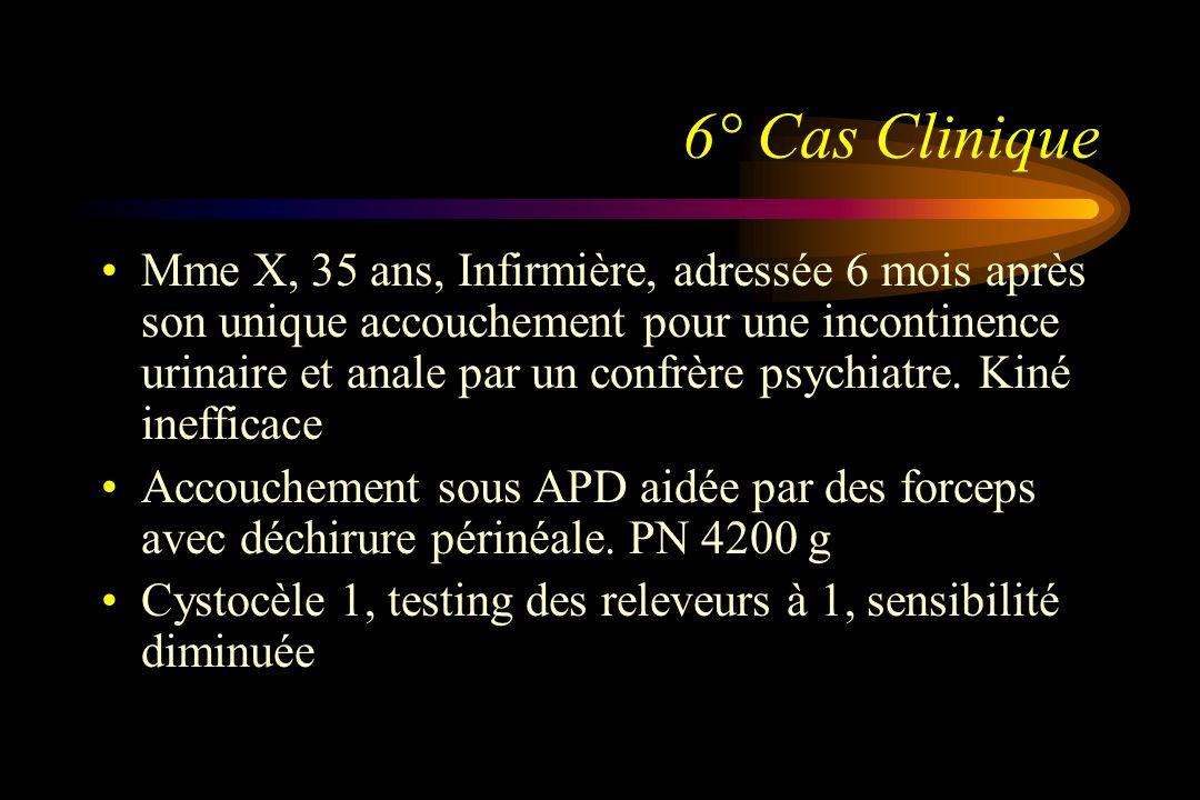 6° Cas Clinique