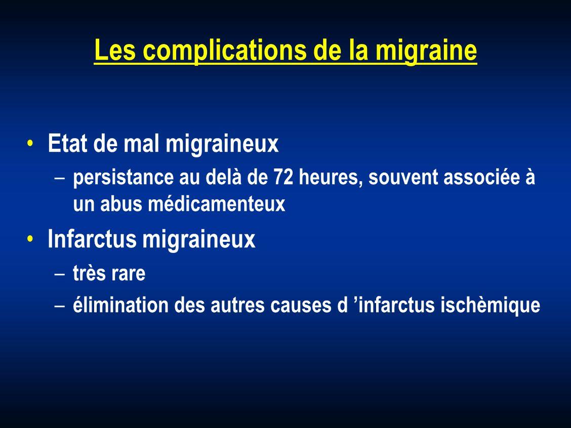 Les complications de la migraine