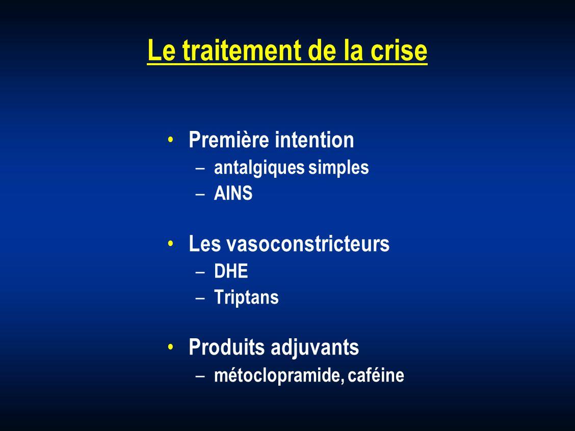 Le traitement de la crise