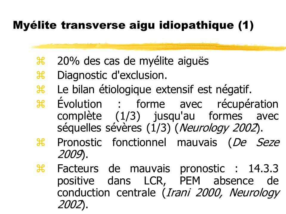 Myélite transverse aigu idiopathique (1)