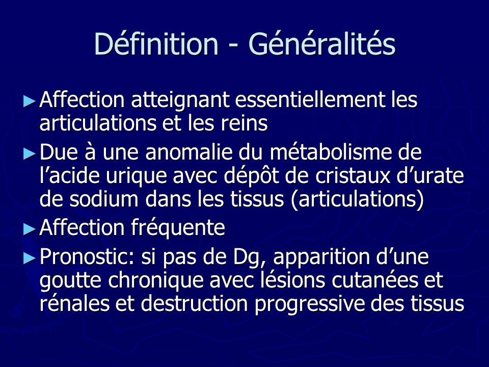 Définition - Généralités