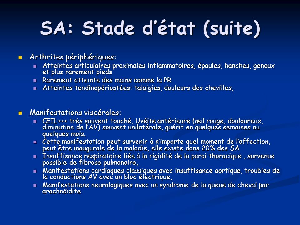 SA: Stade d'état (suite)